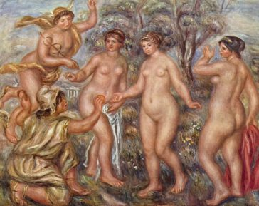 Auguste Renoir - Sąd Parysa