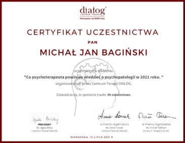M. Bagiński - Psychopatologia 2021