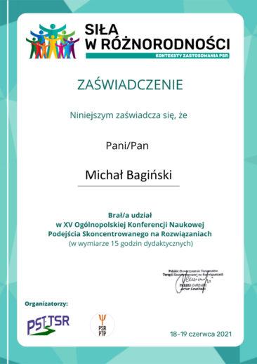 M. Bagiński konferencja PSTTSR